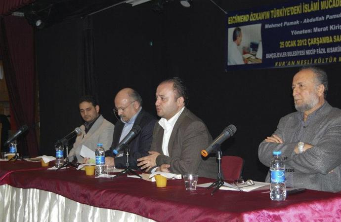 Ercümend Özkan'ın Katkıları Paneli