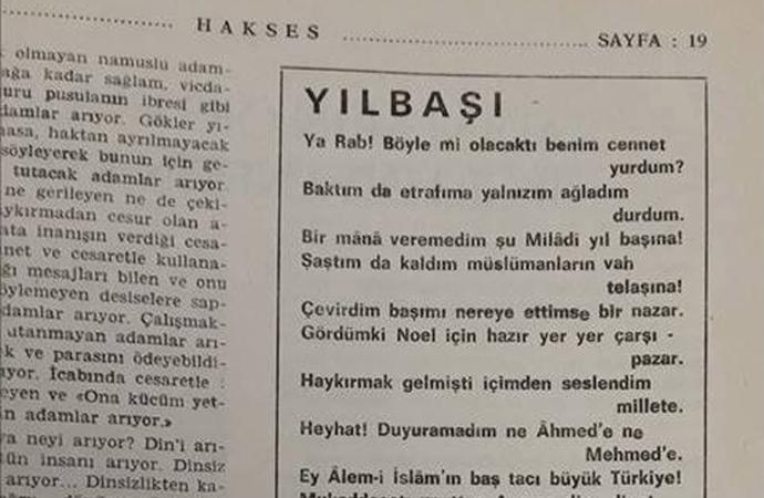 Teyit.org: 'O şiir Mehmet Akif'e ait değil'