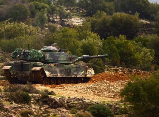 Afrin operasyonunda 7.5 km içeri girildi