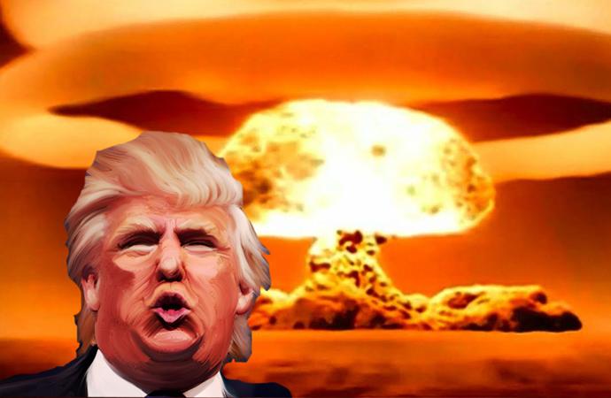 Trump'ın masasında gerçekten düğme var mı?