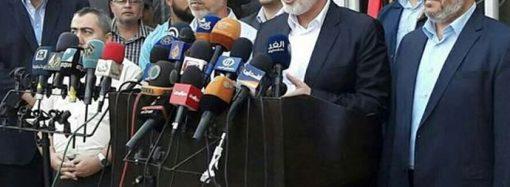 Hamas Lideri İsmail Heniyye bir heyetle Kahire'ye gitti 
