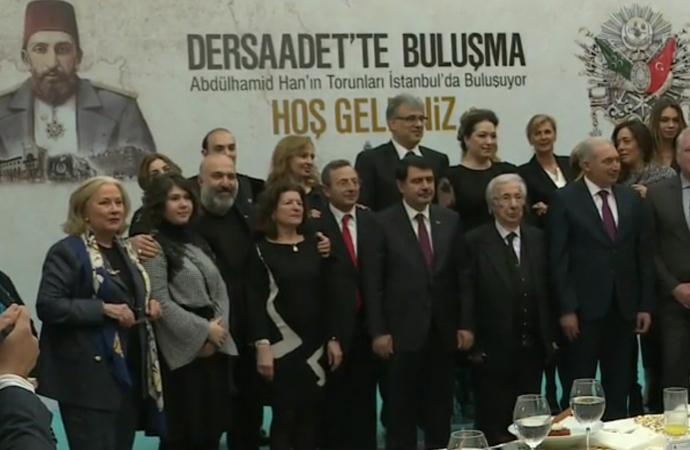 7 ülkeye dağılmış, II.Abdülhamid'in torunları İstanbul'da toplandı