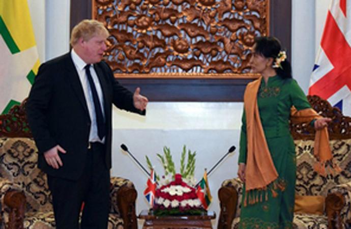 İngiliz Bakan Asya turunda, Bangladeş'ten sonra Myanmar'da