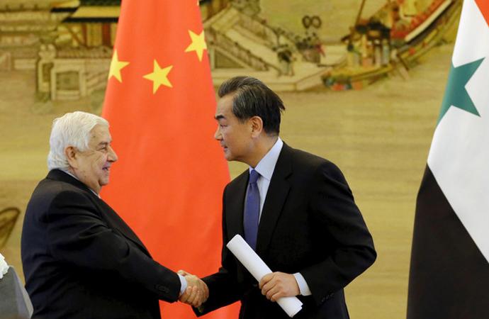 Beklenen açıklama: Çin, Suriye'de daha büyük rol alacak!