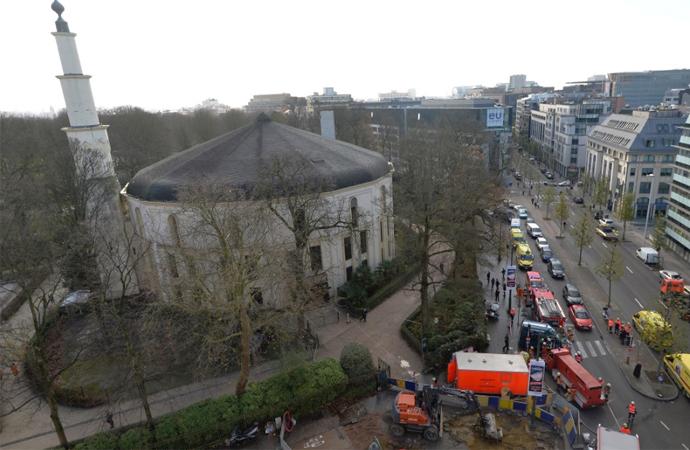 Arabistan, Belçika'daki Büyük Camii'yi artık finanse etmeyecek