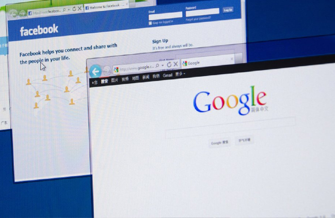 Facebook ve Google'a 'BATAKLIK' eleştirisi