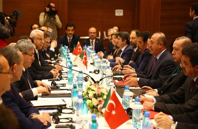 Türkiye ve Cezayir arasında imzalanan anlaşmalar