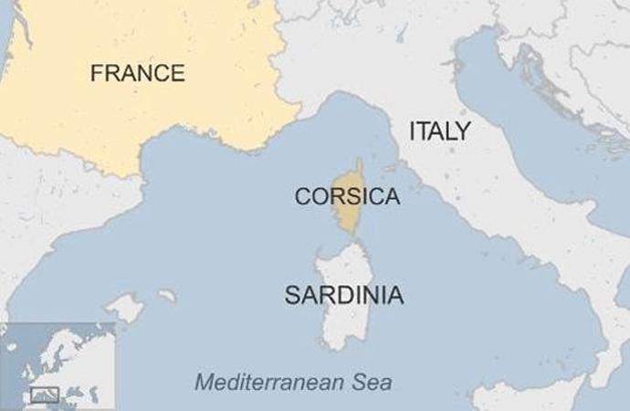 Fransa, Korsika'nın özerklik isteğinin kabul edilmeyeceğini bildirdi