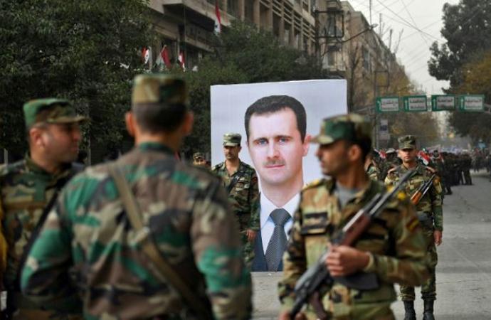 Esad Rejimi, ABD'nin savaş suçu işlediğini öne sürdü