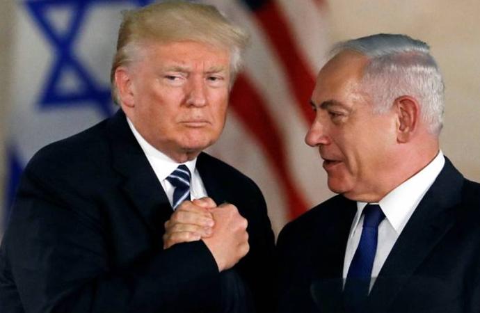 Trump ve Netanyahu Washington'da bir araya geldi