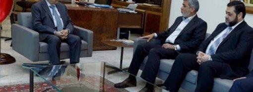 Hamas Heyeti Lübnan Cumhurbaşkanı Mişel Avn ile görüştü