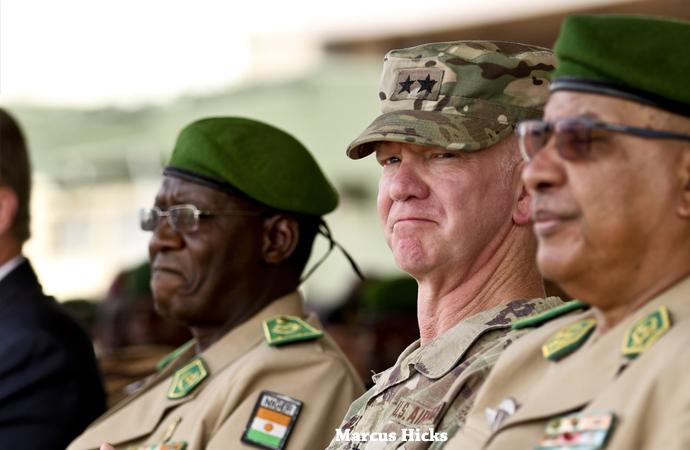 AFRICOM liderliğinde Nijer'de tatbikat