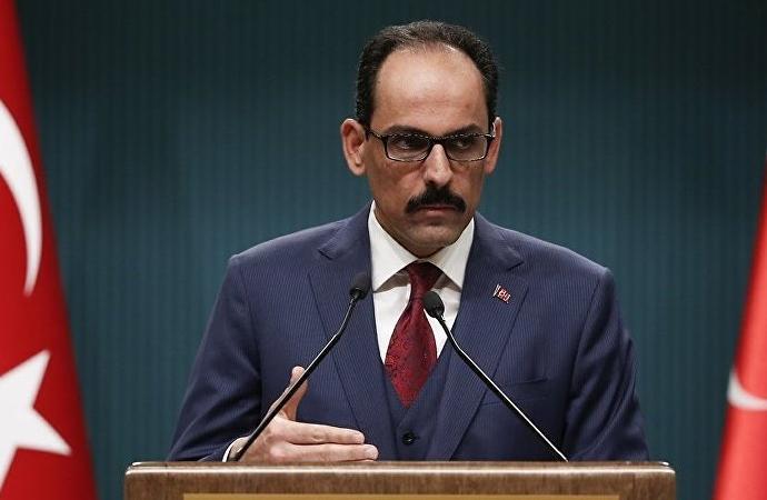 İbrahim Kalın: 'Suriye rejiminin cevapsız bırakılması düşünülemezdi'