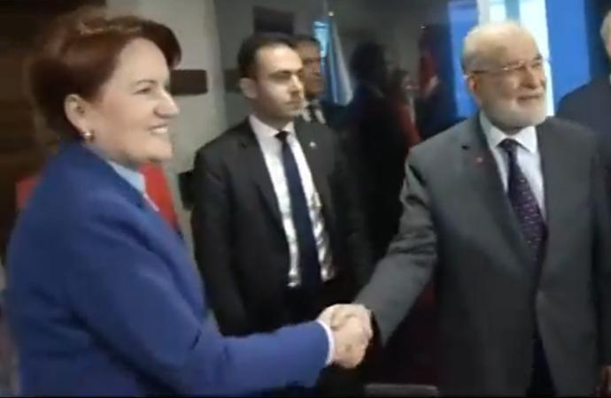 Akşener ile Karamollaoğlu görüştü