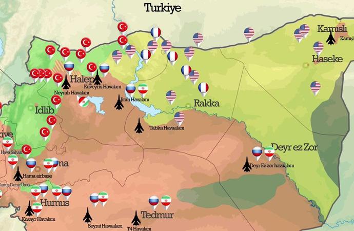 ABD, YPG'nin elindeki toprakları Araplara bırakacak iddiası