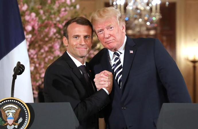 Macron, küresel aktör olmaya hevesli!