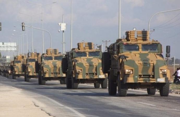 TSK, İdlib'de 88 km. Irak'ta 20 km. derinliğe indi