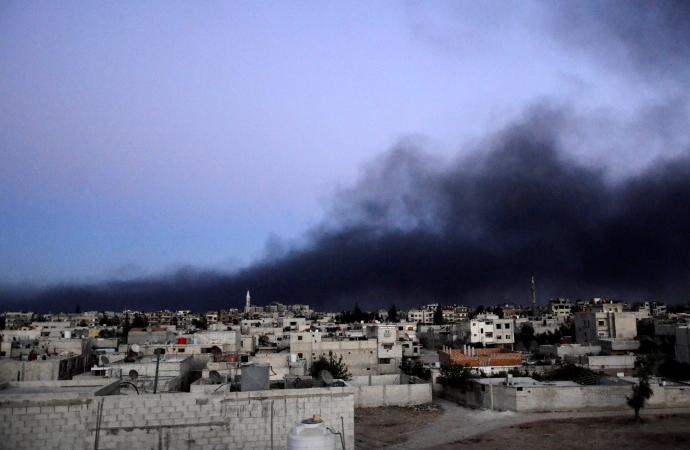 Suriye rejiminden Doğu Guta'ya zalim saldırı: Can kaybı 78'e yükseldi