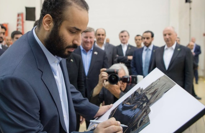 Amerika gezisi nihayet biten Suudi Prens, Fransa'ya geçti