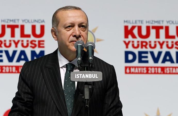 Erdoğan, Muasır Medeniyet Seviyesini Hedef Gösterdi