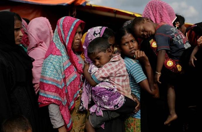 Arakan Müslümanları açlıkla mücadele ediyor