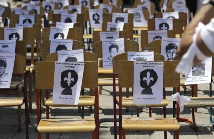 Bosna'da 'Beyaz Kurdele Günü'