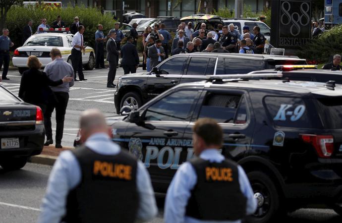 ABD'nin Annapolis şehrinde yerel gazeteye saldırı
