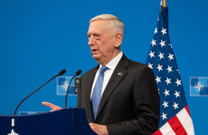 Mattis: IŞİD gitti diye Suriye'den çekilecek değiliz