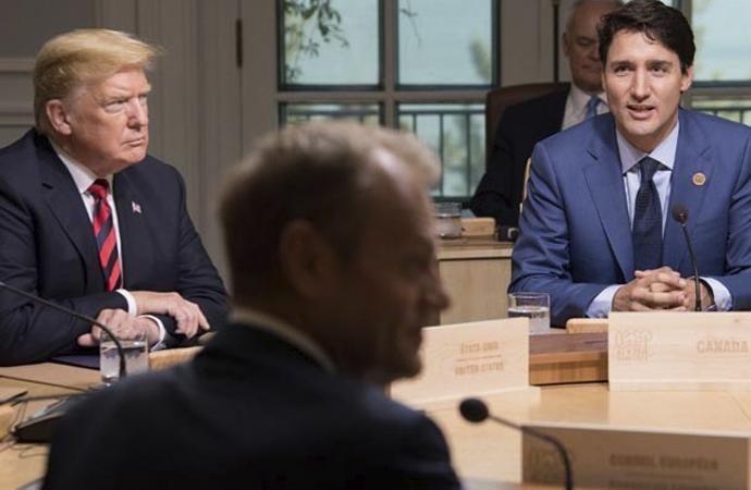 Amerika Başkanı'ndan Kanada Başbakanı'na Hakaret