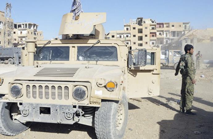 Amerika'dan YPG'ye 250 TIR Silah