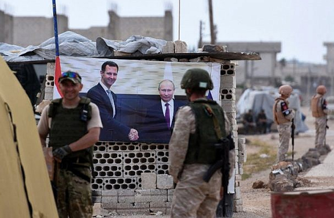 Suriye'nin başkentine Rus darbesi