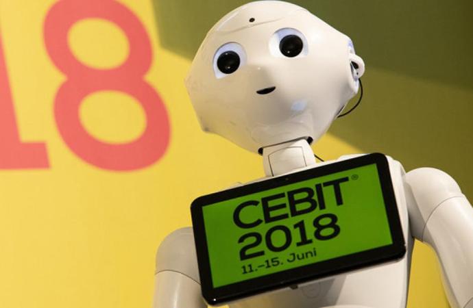 Teknoloji fuarı CeBIT 2018 başladı