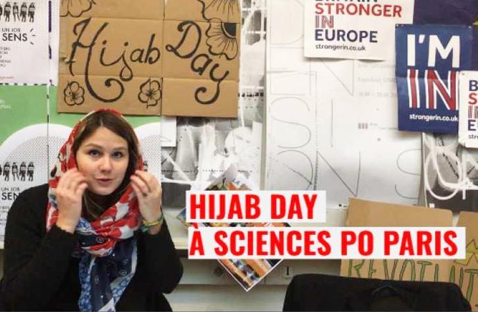 'Dünya Hicab Günü' için Başörtülü destek