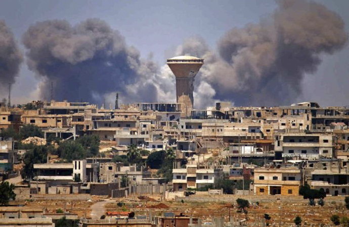 Suriye birlikleri Dera'ya girdi
