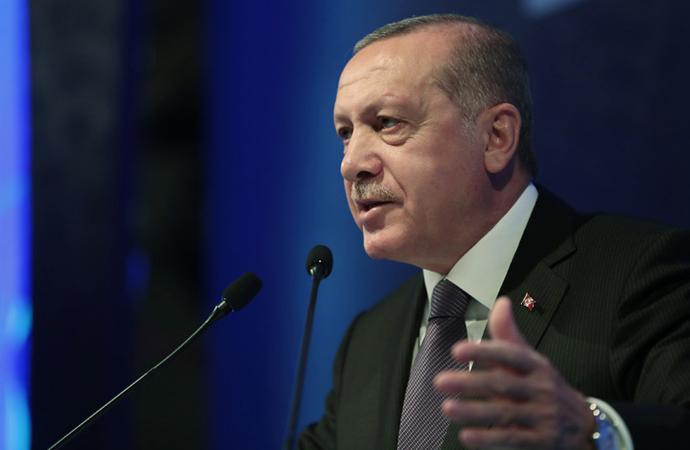 """Erdoğan: """"Serbest piyasa ekonomisini güçlendirdik"""""""