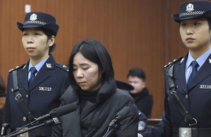 Çin'de 3 çocuk ve annelerinin ölümüne neden olan bir kadın idam edildi