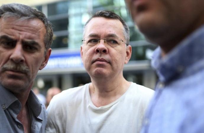 ABD: 'Brunson çoktan bırakılmalıydı'