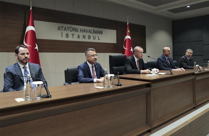 Erdoğan: 'Serbest ticaret vurgumuzu yineleyeceğiz'