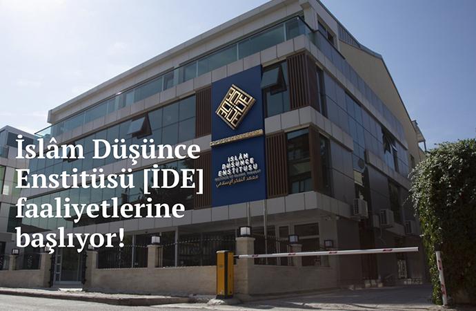 Mehmet Görmez'in yeni yeri:İslam Düşünce Enstitüsü