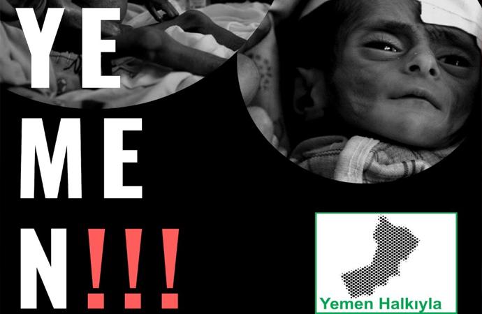 Yemen Halkıyla Dayanışma Platformu, mazlum Yemen halkı için yardım kampanyası başlattı