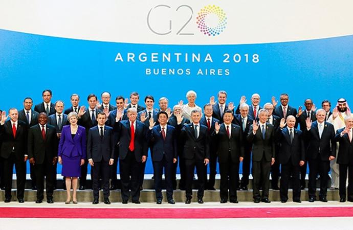 G-20 Liderler Zirvesi dün akşam başladı