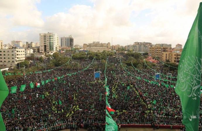 Hamas: 'Kudüs Filistin'in ebedi başkentidir'