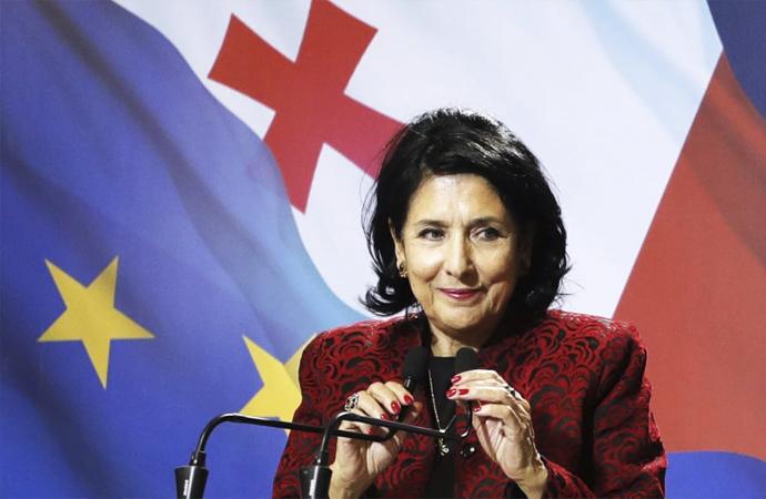 Gürcistan'ın yeni cumhurbaşkanından Avrupa ve NATO açıklaması