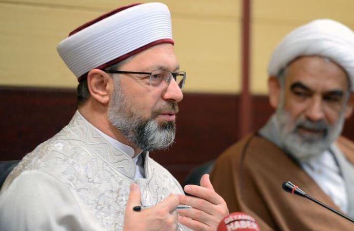Erbaş: 'Batı dünyası İslam'ı kaynağından öğrenmeli'