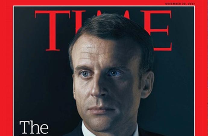 TIME 'geleceğin lideri' demişti, 'eğer Fransa'yı yönetebilirse!'