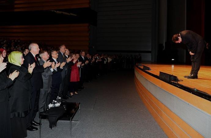 Erdoğan'ın ayakta alkışladığı Fazıl Say'dan uzlaşı mesajı