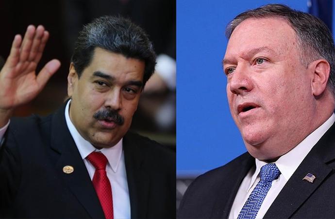 Venezuela'yı terk edin duyurusuna ABD'den yanıt