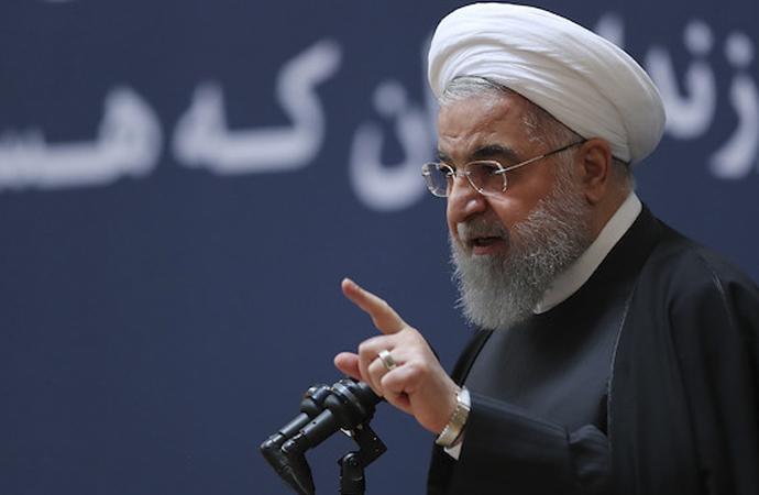 Ruhani: 'Devrimden sonraki en büyük ekonomik baskıyla karşı karşıyayız'