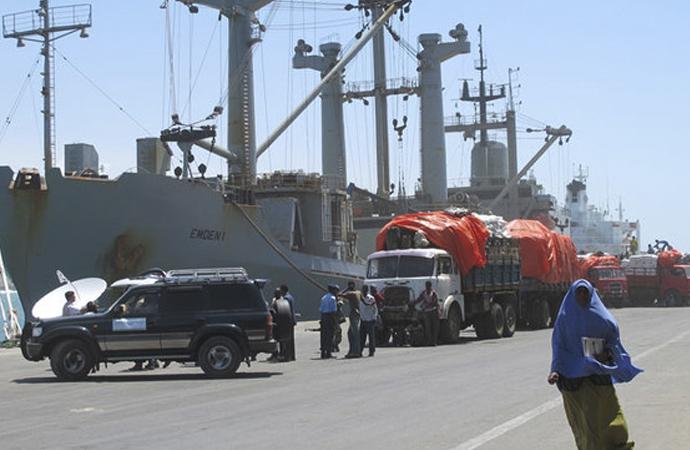 Küresel taşımacılık şirketi Somali limanını sisteme aldı