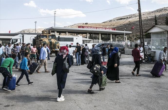 İçişleri Bakanlığı: 295 bin Suriyeli ülkesine döndü